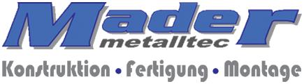 Mader Metalltec Deggendorf