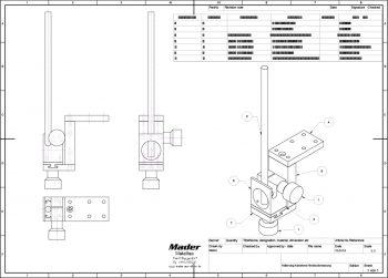 Konstruktion für Stahlbau