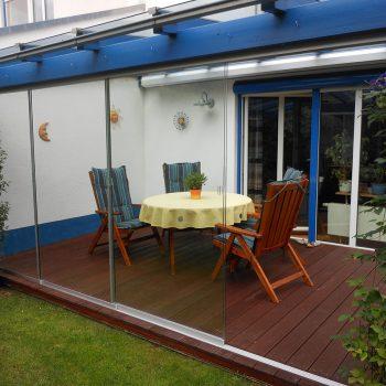 Windschutz für Terrasse